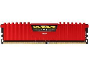 CORSAIR Vengeance LPX 8GB 288-Pin DDR4 SDRAM DDR4 2666 (PC4 21300) Desktop Memory Model CMK8GX4M1A2666C16R