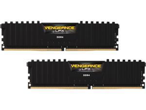 CORSAIR Vengeance LPX 16GB (2 x 8GB) 288-Pin DDR4 SDRAM DDR4 2133 (PC4 17000) Desktop Memory Model CMK16GX4M2A2133C13