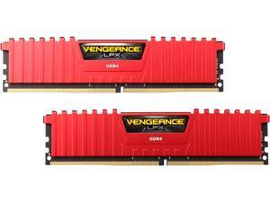 CORSAIR Vengeance LPX 32GB (2 x 16GB) 288-Pin DDR4 SDRAM DDR4 2666 (PC4 21300) Desktop Memory Model CMK32GX4M2A2666C16R