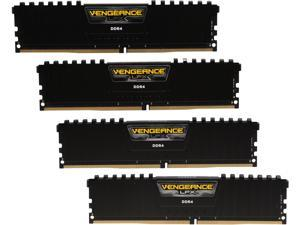 CORSAIR Vengeance LPX 32GB (4 x 8GB) 288-Pin DDR4 SDRAM DDR4 2400 (PC4 19200) AMD X399 Compatible Desktop Memory Model CMK32GX4M4A2400C16