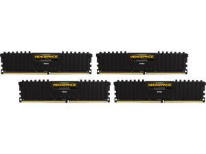 CORSAIR Vengeance LPX 64GB (4 x 16GB) 288-Pin DDR4 SDRAM DDR4 2666 (PC4 21300) AMD X399 Compatible Desktop Memory Model CMK64GX4M4A2666C16
