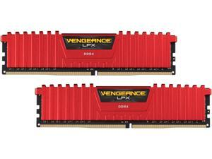 CORSAIR Vengeance LPX 8GB (2 x 4GB) 288-Pin DDR4 SDRAM DDR4 2400 (PC4 19200) Desktop Memory Model CMK8GX4M2A2400C16R