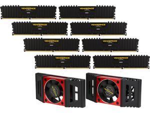 CORSAIR Vengeance LPX 128GB (8 x 16GB) 288-Pin DDR4 SDRAM DDR4 2666 (PC4 21300) AMD X399 Compatible Desktop Memory Model CMK128GX4M8A2666C16