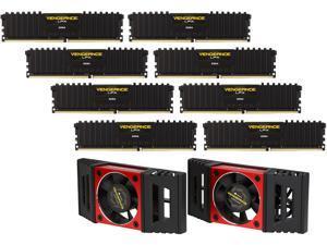CORSAIR Vengeance LPX 128GB (8 x 16GB) 288-Pin DDR4 SDRAM DDR4 3000 (PC4 24000) AMD X399 Compatible Desktop Memory Model CMK128GX4M8B3000C16