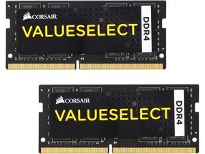 CORSAIR ValueSelect 32GB (2 x 16GB) 260-Pin DDR4 SO-DIMM DDR4 2133 (PC4 17000) Laptop Memory Model CMSO32GX4M2A2133C15