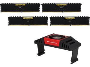 CORSAIR Vengeance LPX 32GB (4 x 8GB) 288-Pin DDR4 SDRAM DDR4 3600 (PC4 28800) Desktop Memory Model CMK32GX4M4B3600C18