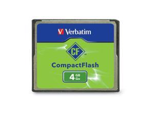 Verbatim 4GB Compact Flash (CF) Flash Card Model 95188