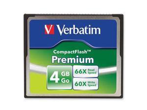 Verbatim 4GB Premium 95500 CompactFlash (CF) Card