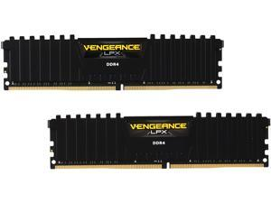 CORSAIR Vengeance LPX 32GB (2 x 16GB) 288-Pin DDR4 SDRAM DDR4 2400 (PC4 19200) Desktop Memory Model CMK32GX4M2A2400C16