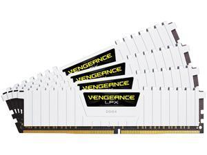 CORSAIR Vengeance LPX 64GB (4 x 16GB) 288-Pin DDR4 SDRAM DDR4 2666 (PC4 21300) Desktop Memory Model CMK64GX4M4A2666C16W