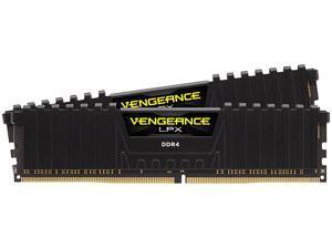 CORSAIR Vengeance LPX 16GB (2 x 8GB) 288-Pin DDR4 SDRAM DDR4 3000 (PC4 24000) Desktop Memory Model CMK16GX4M2D3000C16