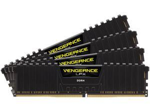 CORSAIR Vengeance LPX 32GB (4 x 8GB) 288-Pin DDR4 SDRAM DDR4 3000 (PC4 24000) Desktop Memory Model CMK32GX4M4D3000C16