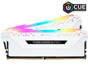 CORSAIR Vengeance RGB Pro 16GB (2 x 8GB) 288-Pin DDR4 DRAM DDR4 3000 (PC4 24000) Desktop Memory Model CMW16GX4M2C3000C15W
