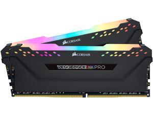 CORSAIR Vengeance RGB Pro 16GB (2 x 8GB) 288-Pin DDR4 DRAM DDR4 3000 (PC4 24000) Desktop Memory Model CMW16GX4M2D3000C16