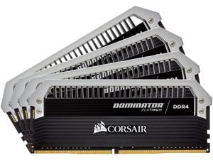 CORSAIR Dominator Platinum 32GB (4 x 8GB) 288-Pin DDR4 SDRAM DDR4 3200 (PC4 25600) Desktop Memory Model CMD32GX4M4C3200C16