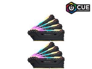 CORSAIR Vengeance RGB Pro 128GB (8 x 16GB) 288-Pin DDR4 SDRAM DDR4 3000 (PC4 24000) Desktop Memory Model CMW128GX4M8C3000C16
