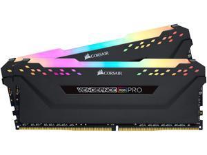 CORSAIR Vengeance RGB Pro 32GB (2 x 16GB) 288-Pin DDR4 SDRAM DDR4 2933 (PC4 23400) Desktop Memory Model CMW32GX4M2Z2933C16