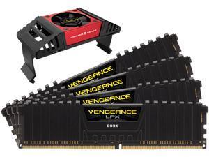 CORSAIR Vengeance LPX 32GB (4 x 8GB) 288-Pin DDR4 SDRAM DDR4 4000 (PC4 32000) Desktop Memory Model CMK32GX4M4K4000C19