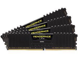 CORSAIR Vengeance LPX 32GB (4 x 8GB) 288-Pin DDR4 SDRAM DDR4 3600 (PC4 28800) Intel XMP 2.0 Desktop Memory Model CMK32GX4M4D3600C18