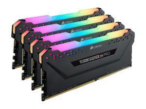 CORSAIR Vengeance RGB Pro 32GB (4 x 8GB) 288-Pin DDR4 SDRAM DDR4 3600 (PC4 28800) Intel XMP 2.0 Desktop Memory Model CMW32GX4M4D3600C18