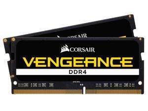 CORSAIR Vengeance 64GB (2 x 32GB) 260-Pin DDR4 SO-DIMM DDR4 2400 (PC4 19200) Laptop Memory Model CMSX64GX4M2A2400C16