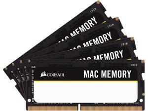 CORSAIR Mac Memory 64GB (2 x 32GB) DDR4 2666 (PC4 21300) Unbuffered Memory for Apple Model CMSA64GX4M2A2666C18