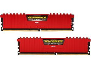 CORSAIR Vengeance LPX 16GB (2 x 8GB) 288-Pin DDR4 SDRAM DDR4 3600 (PC4 28800) Desktop Memory Model CMK16GX4M2D3600C18R