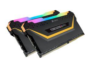 CORSAIR Vengeance RGB Pro 32GB (2 x 16GB) 288-Pin DDR4 SDRAM DDR4 3200 (PC4 25600) Intel XMP 2.0 Desktop Memory - TUF Gaming Edition Model CMW32GX4M2E3200C16-TUF