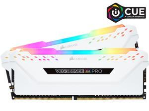 CORSAIR Vengeance RGB Pro 32GB (2 x 16GB) 288-Pin DDR4 SDRAM DDR4 3200 (PC4 25600) Intel XMP 2.0 Desktop Memory Model CMW32GX4M2E3200C16W