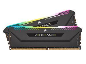 CORSAIR Vengeance RGB Pro SL 32GB (2 x 16GB) 288-Pin DDR4 SDRAM DDR4 3200 (PC4 25600) Optimized for AMD Ryzen Desktop Memory Model CMH32GX4M2Z3200C16