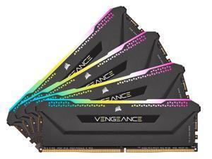 CORSAIR Vengeance RGB Pro SL 32GB (4 x 8GB) 288-Pin DDR4 SDRAM DDR4 3200 (PC4 25600) Intel XMP 2.0 Desktop Memory Model CMH32GX4M4E3200C16