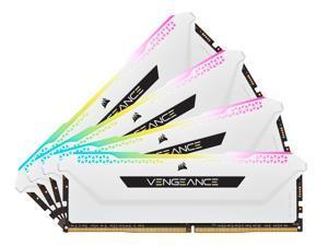 CORSAIR Vengeance RGB Pro SL 32GB (4 x 8GB) 288-Pin DDR4 SDRAM DDR4 3200 (PC4 25600) Intel XMP 2.0 Desktop Memory Model CMH32GX4M4E3200C16W