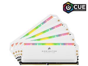 CORSAIR Dominator Platinum RGB 64GB (4 x 16GB) 288-Pin DDR4 SDRAM DDR4 3200 (PC4 25600) Intel XMP 2.0 Desktop Memory Model CMT64GX4M4E3200C16W