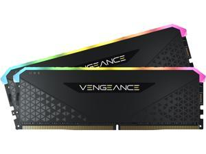 CORSAIR Vengeance RGB RS 64GB (2 x 32GB) 288-Pin DDR4 SDRAM DDR4 3600 (PC4 28800) Intel XMP 2.0 Desktop Memory Model CMG64GX4M2D3600C18