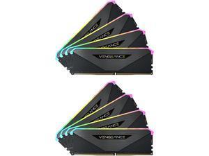 CORSAIR Vengeance RGB RT 256GB (8 x 32GB) 288-Pin DDR4 SDRAM DDR4 3200 (PC4 25600) AMD Optimized Desktop Memory Model CMN256GX4M8Z3200C16