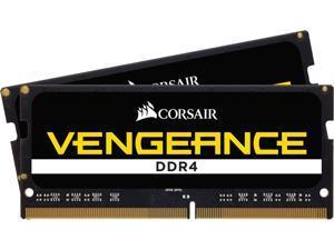 CORSAIR Vengeance 64GB (2 x 32GB) 260-Pin DDR4 SO-DIMM DDR4 3200 (PC4 25600) Laptop Memory Model CMSX64GX4M2A3200C22