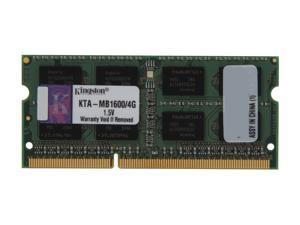 Kingston 4GB DDR3 1600 Memory for Apple Model KTA-MB1600/4G