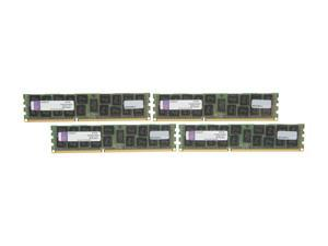 Kingston 64GB (4 x 16GB) 240-Pin DDR3 SDRAM ECC Registered DDR3 1600 Server Memory DR x4 Model KVR16R11D4K4/64