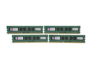 Kingston 32GB (4 x 8GB) 240-Pin DDR3 SDRAM ECC Unbuffered DDR3 1600 Server Memory w/TS Model KVR16E11K4/32