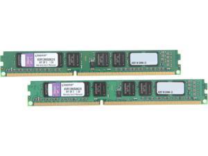 Kingston 8GB (2 x 4GB) 240-Pin DDR3 SDRAM DDR3 1333 Desktop Memory Model KVR13N9S8K2/8