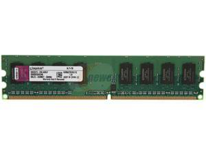 Kingston 1GB 240-Pin DDR2 SDRAM DDR2 667 (PC2 5300) Desktop Memory Model KVR667D2N5/1G