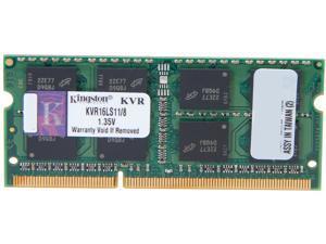 Kingston 8GB 204-Pin DDR3 SO-DIMM DDR3L 1600 (PC3L 12800) Laptop Memory Model KVR16LS11/8