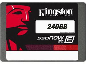 "Kingston E50 2.5"" 240GB SATA MLC Internal Solid State Drive (SSD) SE50S37/240G"