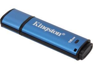 Kingston 16GB Data Traveler AES Encrypted Vault Privacy 256Bit USB 3.0 Flash Drive  (DTVP30/16GB)