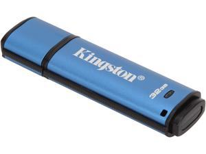Kingston 32GB Data Traveler AES Encrypted Vault Privacy 256Bit USB 3.0 Flash Drive  (DTVP30/32GB)