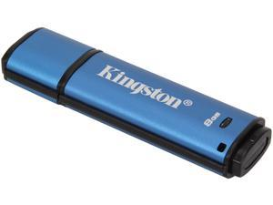 Kingston 8GB Data Traveler AES Encrypted Vault Privacy 256Bit USB 3.0 Flash Drive  (DTVP30/8GB)