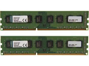 Kingston 16GB (2 x 8GB) 240-Pin DDR3 SDRAM DDR3L 1600 (PC3L 12800) Desktop Memory Model KVR16LN11K2/16