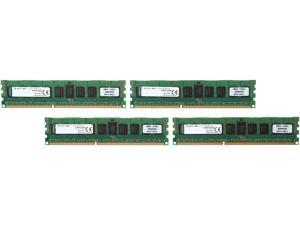 Kingston 32GB (4 x 8GB) 240-Pin DDR3 SDRAM ECC Registered DDR3 1600 (PC3 12800) Server Memory Model KVR16R11S4K4/32I