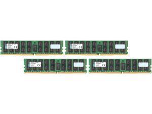 Kingston 64GB (4 x 16GB) 288-Pin DDR4 SDRAM ECC Registered DDR4 2133 (PC4 17000) Server Memory Model KVR21R15D4K4/64
