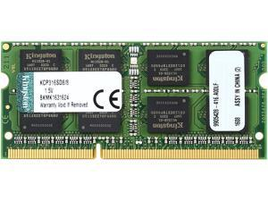 Kingston 8GB 204-Pin DDR3 SO-DIMM DDR3 1600 (PC3 12800) Unbuffered System Specific Memory Model KCP316SD8/8